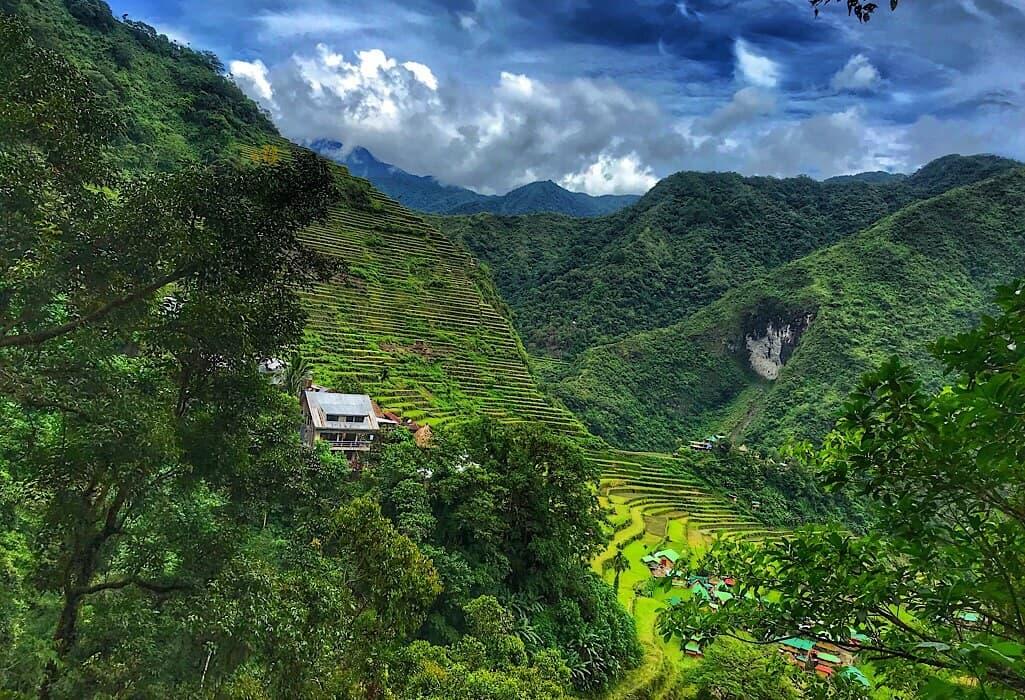 Batad rice paddies, Ifugao Philippines