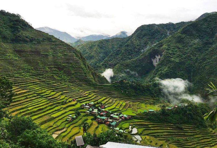 The rice paddies of Batad