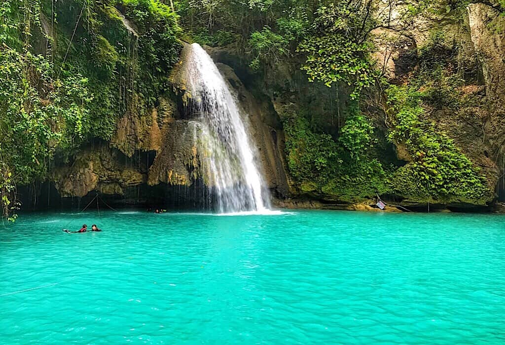 Waterfall in Siquijor, Philippines