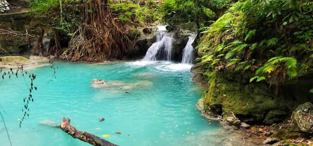 Waterfall in Siquijor, Phillipines