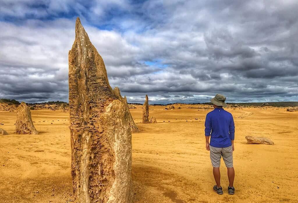A tall pointed Pinnacle next to Trin