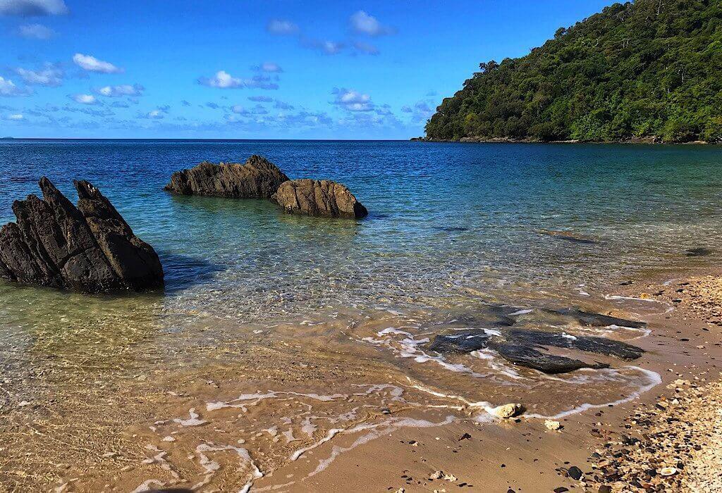 A beach on Dunk Island