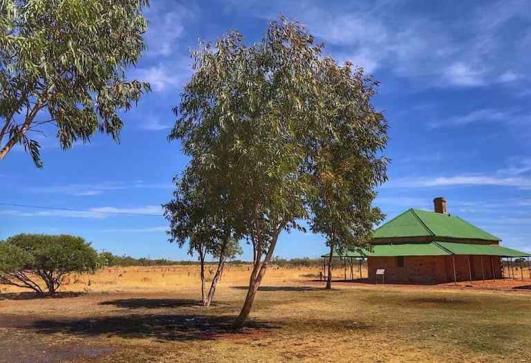 Station house at one of the telegraph stations in the Northern Territory