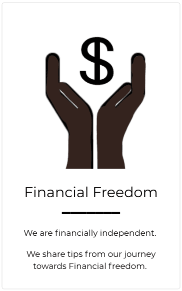 Financial Freedom is a journey