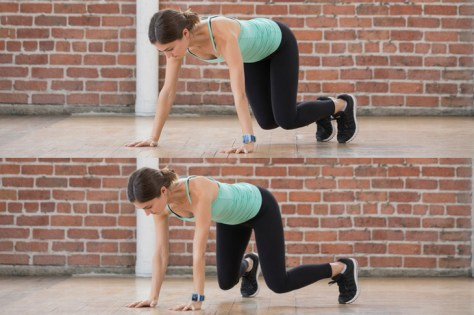 Embrace the lateral movement of the full-body bearcrawl.