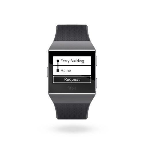 Apps for Fitbit: Uber