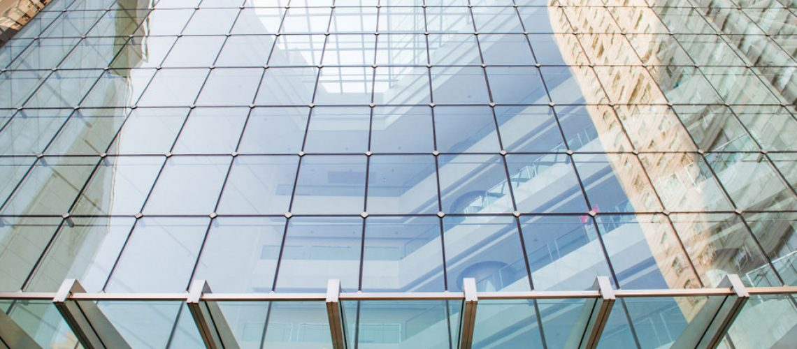 common places to find curtain walls