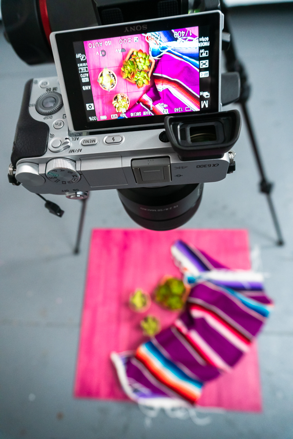 3 ways camera setup for Tasty-style video recipes