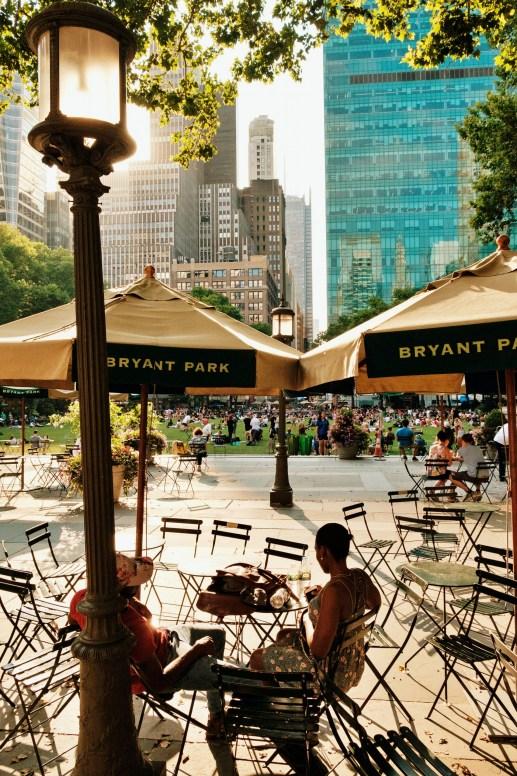 Bryant Park Summertime New York City