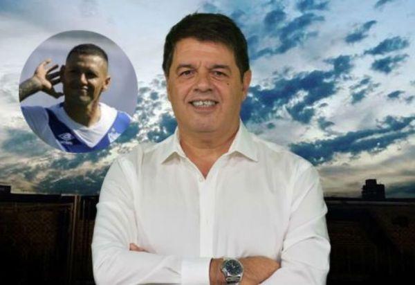 "Rapisarda, presidente de Vélez: ""Que Zárate disfrute de su presente"""