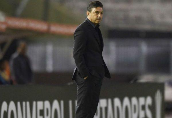 Cómo dirige Marcelo Gallardo en un partido de Copa Libertadores