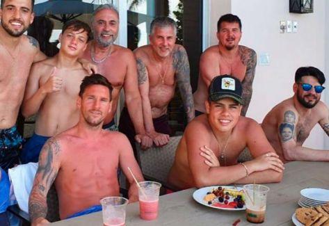 1b2f9d21535d La llamativa foto del estado de Messi en sus vacaciones | 442