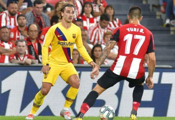 Un gol increíble amargó al Barcelona en su debut en la Liga