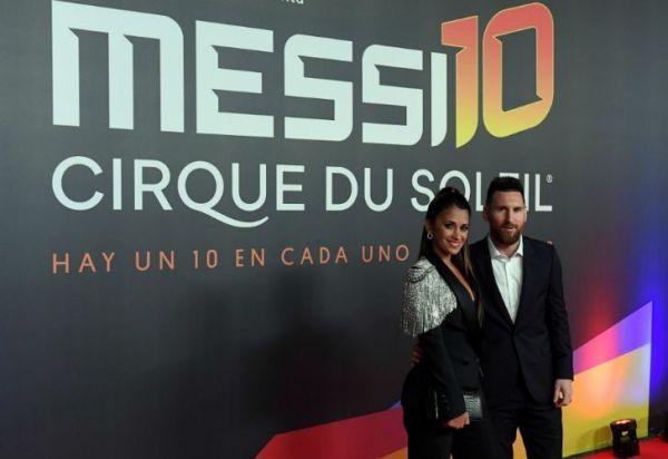 Estrenaron MESSI10, el gran show del Cirque Du Soleil