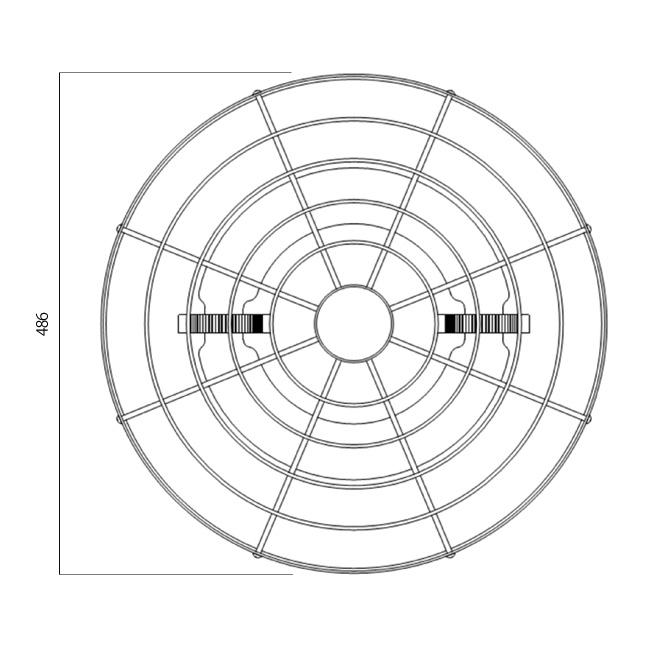 PJ150N-SG底面図