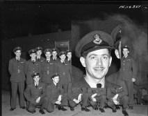 Squadron photo Jan 1944 C E Scarlet