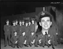Squadron photo Jan 1944 Gordon Frederick Ockenden
