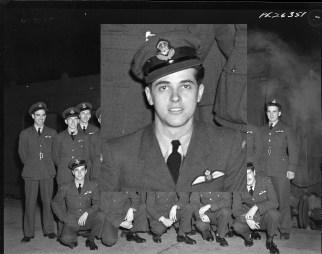 Squadron photo Jan 1944 Luis Perez-Gomez