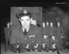 Squadron photo Jan 1944 W A C Gilbert