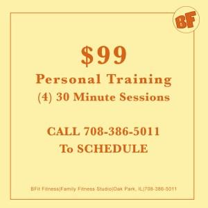 Personal training oak park
