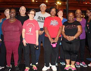 free fitness class for seniors