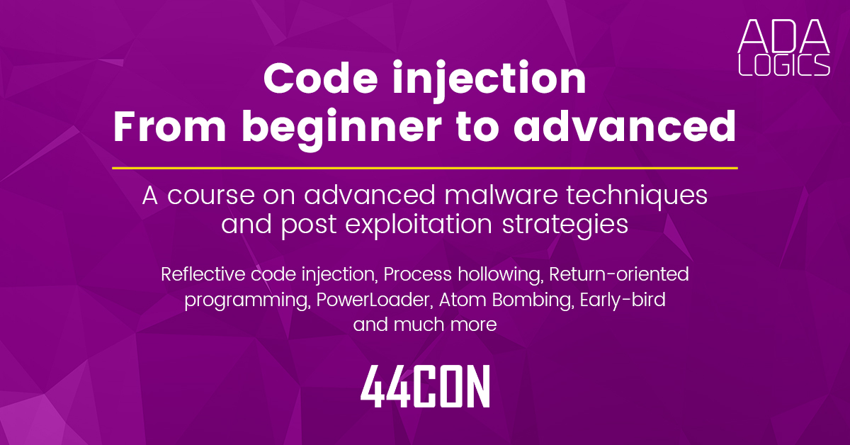 Code injections from beginner to advanced for defenders and