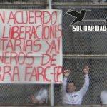 Presos de las FARC en huelga de hambre