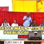 FARC-EP realizaron pedagogía para la paz en el sur del país