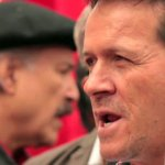 Solidaridad mundial por libertad de Húbert Ballesteros