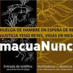 Ministro no atiende a los presos en huelga de hambre