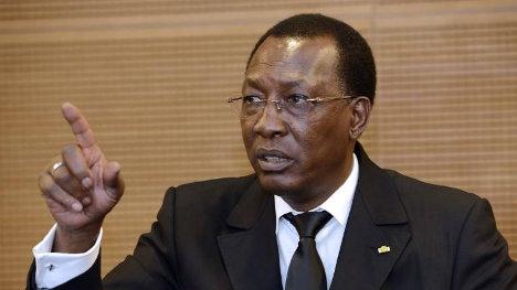 Idriss Déby, dictador de Chad.