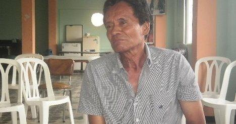 Camarada Román González. Foto Nelosi.