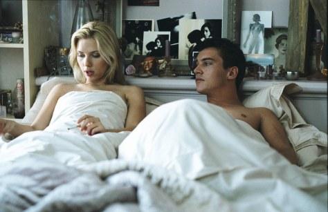Scarlett Johansson and Jonathan Rhys-Meyers