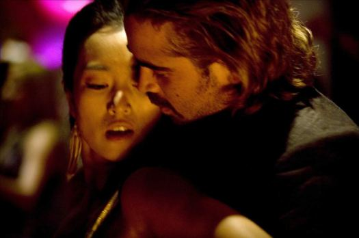 Gong Li and Colin Farrell