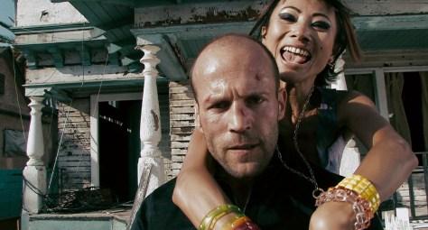 Jason Statham and Bai Ling