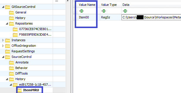 Visual Studio registry artifacts – part 2 – MRU Items #DFIR