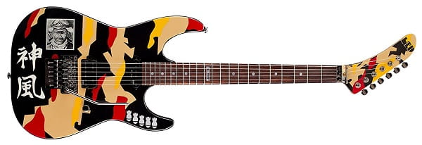 ESP LTD GL200K George Lynch Electric Guitar Kamikaze Graphic