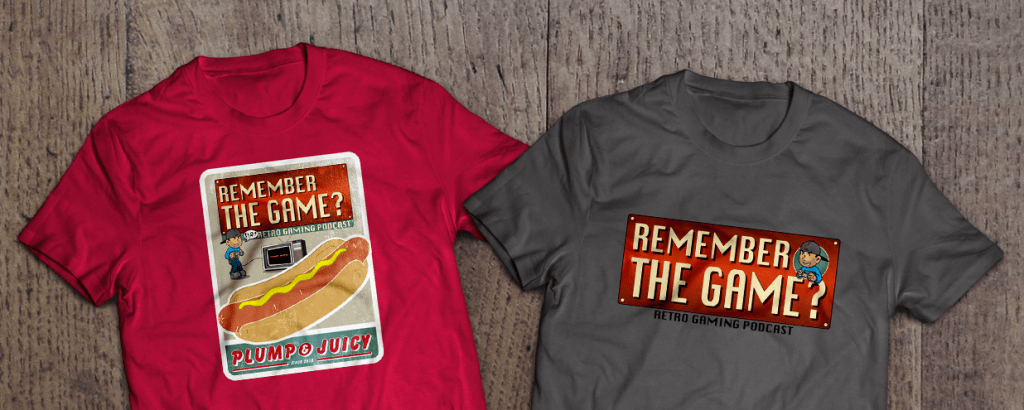 Remember the Game Video Game t-shirts