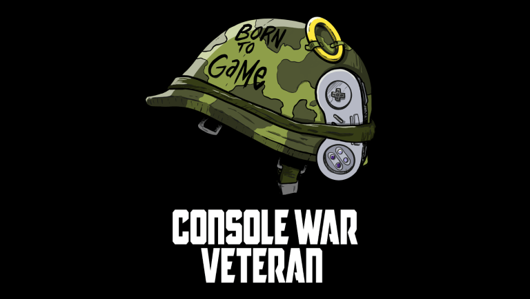 Console War Veteran T-Shirt