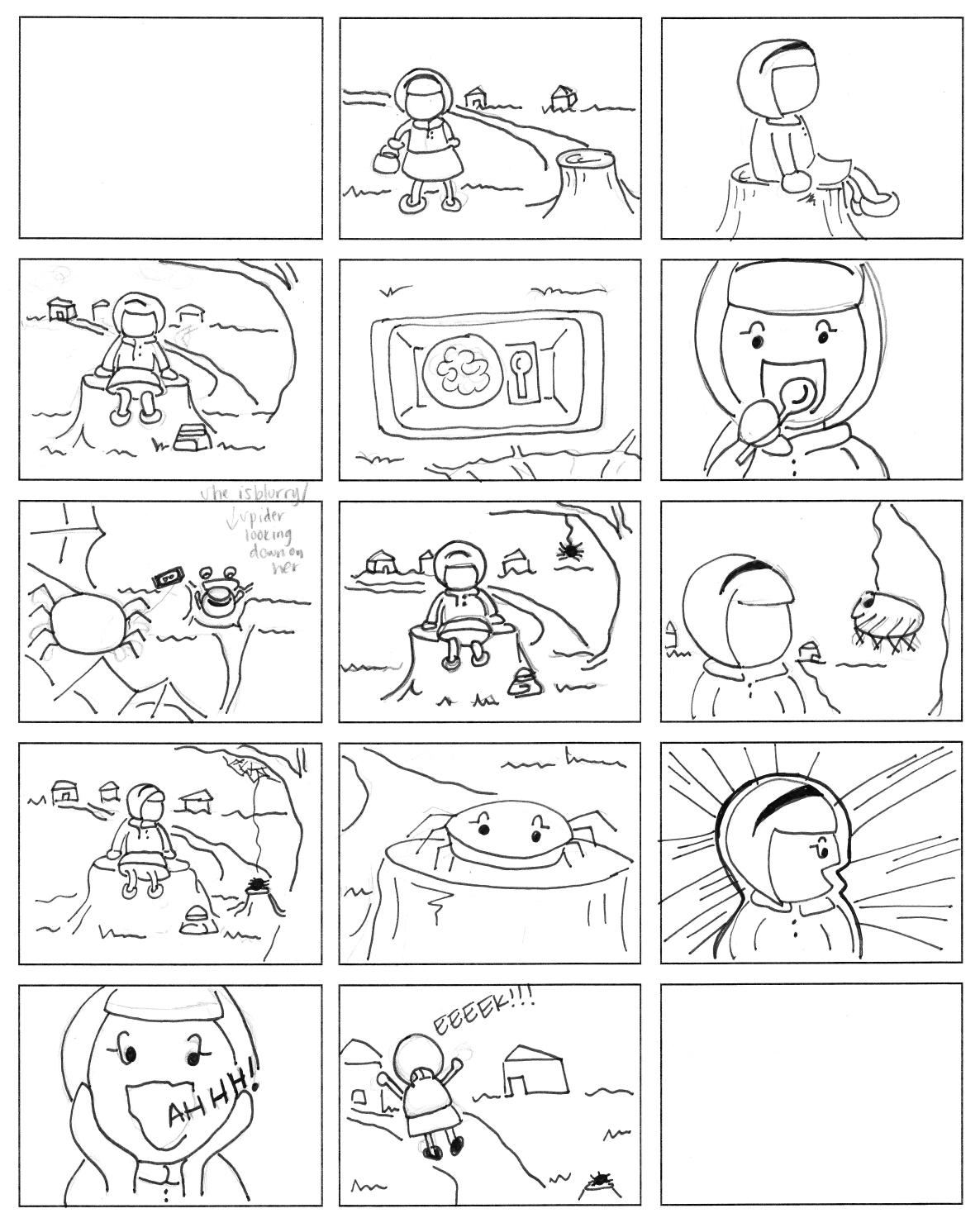 Assignment 5 Nursery Rhyme Storyboard