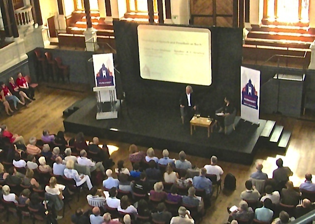 Grayling Sheldonian