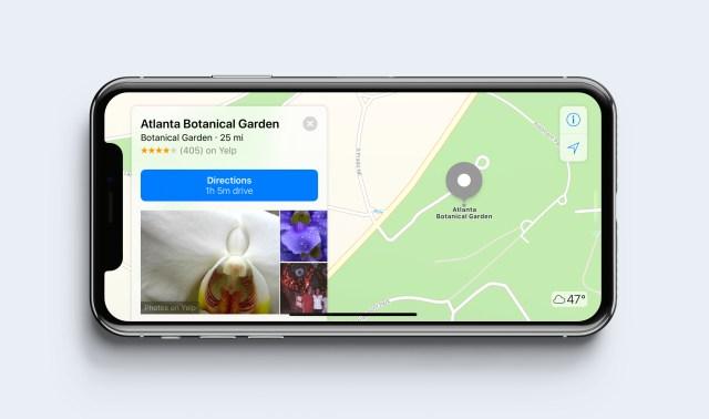 iPhone X - Landscape orientation