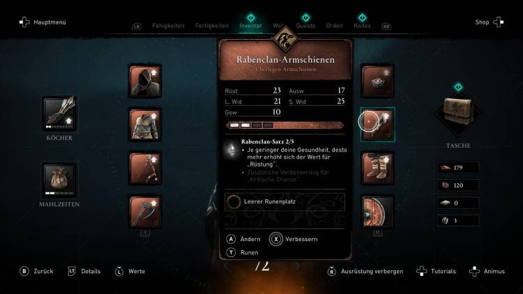 [GUIDE] :  Assassin's Creed Valhalla |  What are the Best Weapons for Beginning, Middle, and Late Game Part three