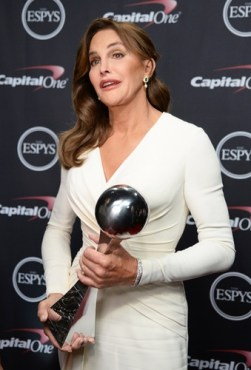 "Bruce/Caitlyn Jenner named ""Woman of the year""."