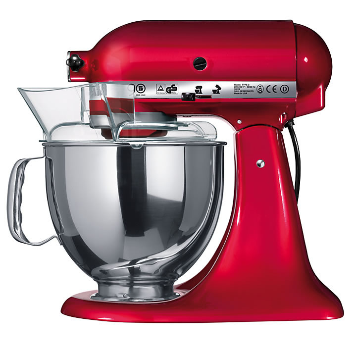 Kitchen Aid Artisan Mixer Candy Apple KSM150BCA