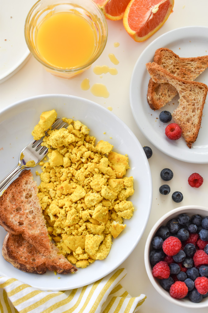 With this one tip, turn tasteless tofu into spectacular Tofu Scrambled Eggs!