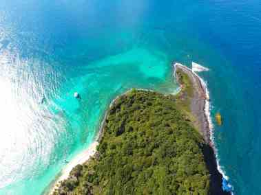 Day exploring the island of Grenada from the Air