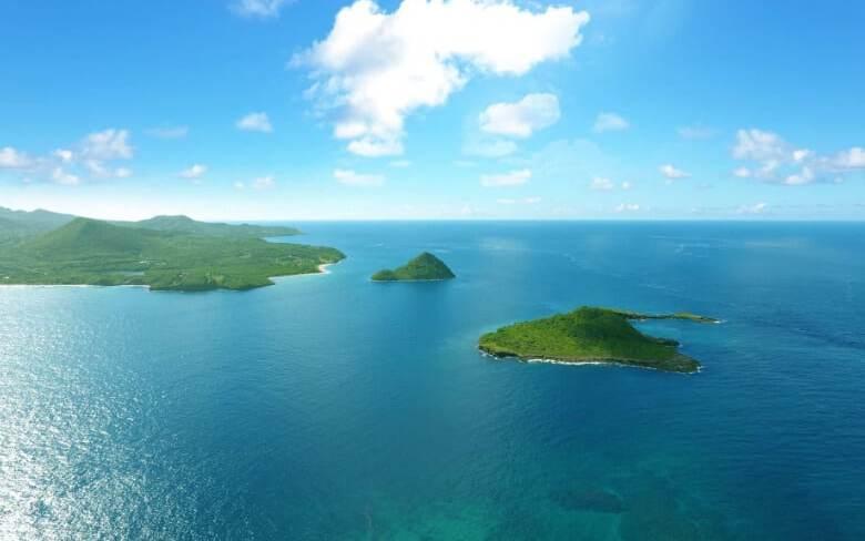 A Caribbean paradise