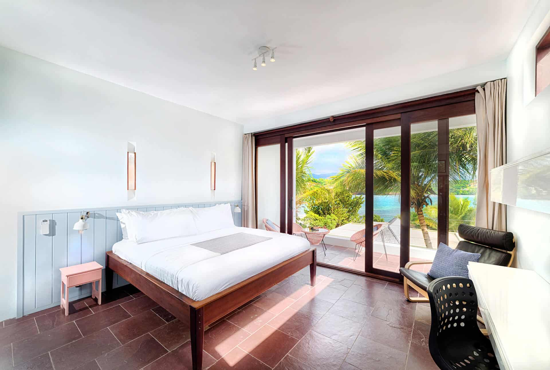 Seaview villa's room witha view