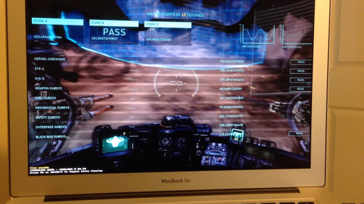 HAWKEN on a MacBook Air